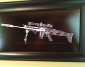 SCAR 16  CAT scan gun print - ...