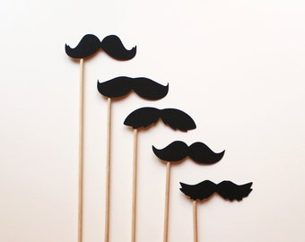 Awesome Photo Booth Props - Mustaches on Sticks
