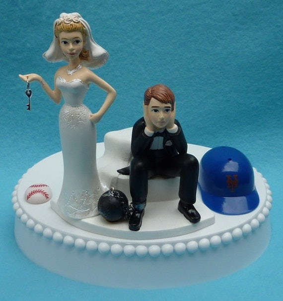 wedding cake toppers in new york wedding cake topper new york mets ny baseball themed and 26513