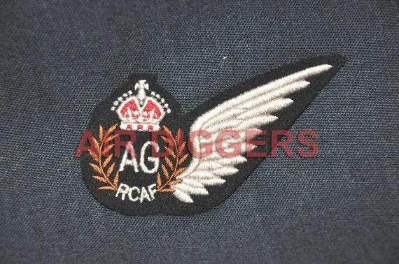 WW2 RCAF Canadian Air Gunner Aircrew Wing