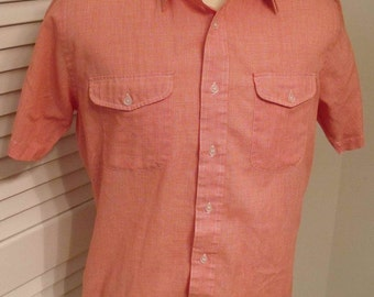 Vintage short sleeve button down shirt by Ballymoor