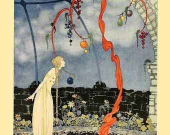 "Virginia Frances Sterrett : ""Rosalie's Tree"" (Old French Fairy Tales, 1920) - Giclee Fine Art Print"