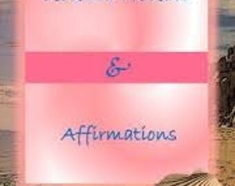 Your very own personally written affirmation cards