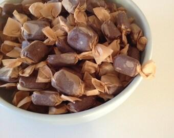 Handmade Dark Chocolate Caramels
