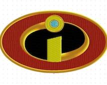 Superhero logo MR Incredible 4 inch