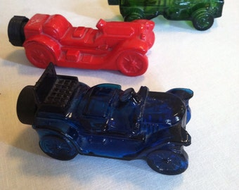 Three Avon Cologne Cars and truck