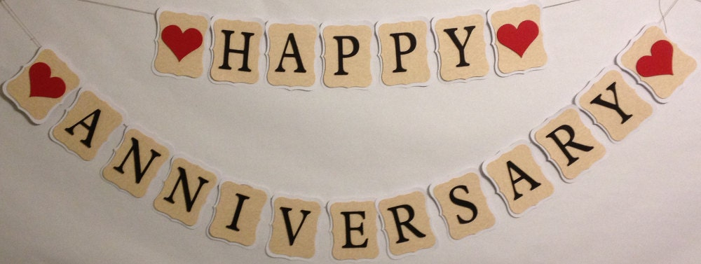 Happy anniversary party decorations wedding by for Anniversary decoration ideas home
