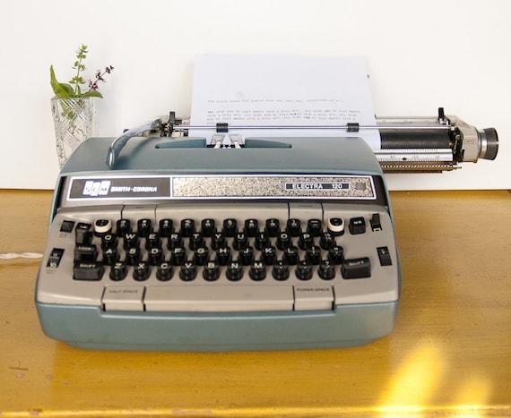 Smith Corona Electra 120 / Vintage Electric Typewriter