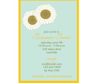 Summer Soiree - Summer Garden Party Invitation
