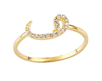 FiEMMA Waw Gold Ring