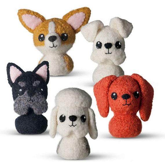 Amigurumi Scottie Dog Pattern : In the Doghouse 1 Felted Knitting Pattern - Amigurumi Dog ...