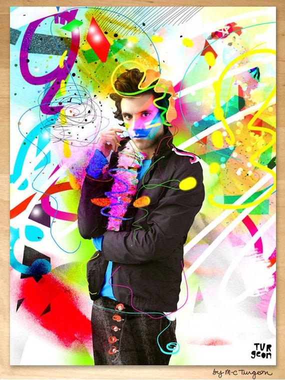 Mika Poster, Art by M-C Turgeon