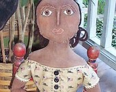 Primitive Black Folk Doll PATTERN Jubal Davis PDF HAFAIR
