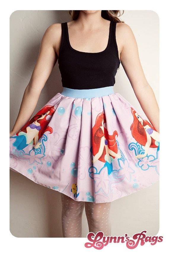 the mermaid vintage skirt handmade diy bow by lynnsrags