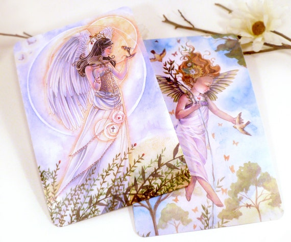 Angel Postcard Prints Guardian Angel Art