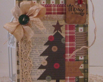be merry - Card and Envelopes