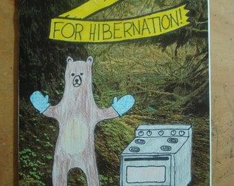 Plump Up For Hibernation Zine
