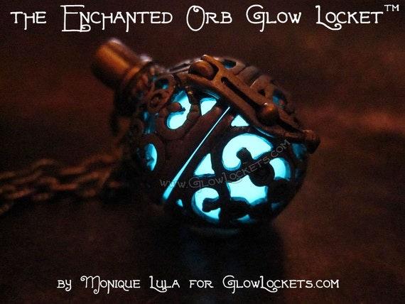 Enchanted Orb Glow Locket