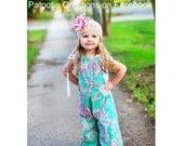Pillowcase Romper Sewing Pattern preemie through 10 girls w. ruffles 3 leg lengths Instant PDF