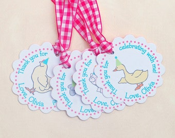The Vintage PINK Farm Collection - Fantastic Favor Tags with Bags from Mary Had a Little Party