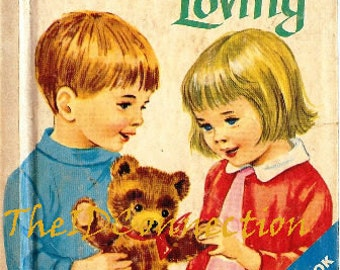1968 Friends Are For Loving Childrens Book, Rand McNally, by Mary Alice Jones, Illustrations by Dorothy Grider