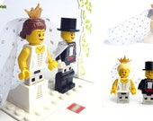 Digital Wedding Album 16GB to 128GB Handmade with original Lego® Minifigures & Accessories