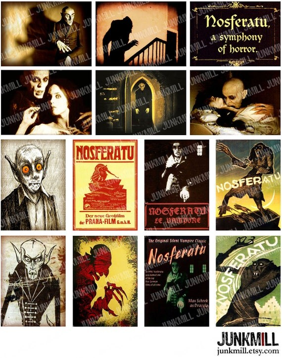 Classic movie poster collage
