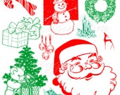 Christmas Symbols Photoshop Brushes Brush Set