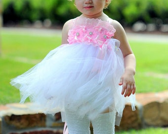 Little Bunny Couture - Pink Dreams Lace  Bunny Legs - baby girls ruffled tutu leg warmers fits 6m to 6X