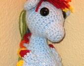 PATTERN - Crocheted Sea Pony MLP Amigurumi - My Little Pony Friendship is Magic