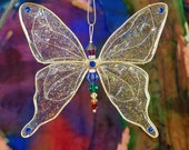 Suncatcher Butterfly Large - Birthstones & 28 More Swarovski Colors