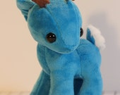 Teal Deer TL,DR Art Doll - Adorable Minky Plush Soft Toy
