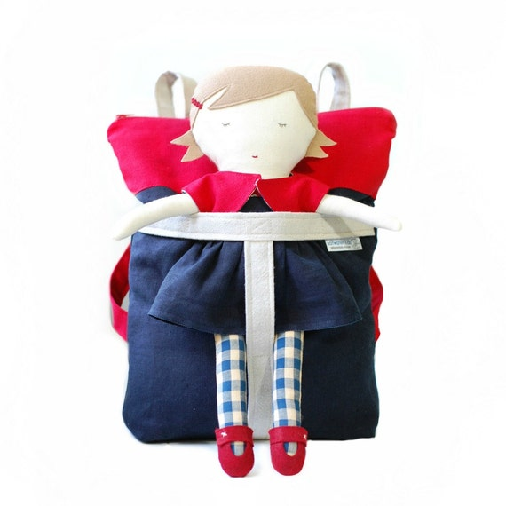 Saltwater Kid Doll and Matching Backpack Carrier - FREE Shipping