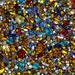 100 Assorted Swarovski Crystal Rhinestones - Fancy shapes, AB, and more
