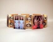 THE SHINING Movie / SCRABBLE Bracelet / Handmade Jewelry / Unusual Gifts