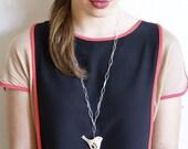 Mod Jay Bird Chain Necklace