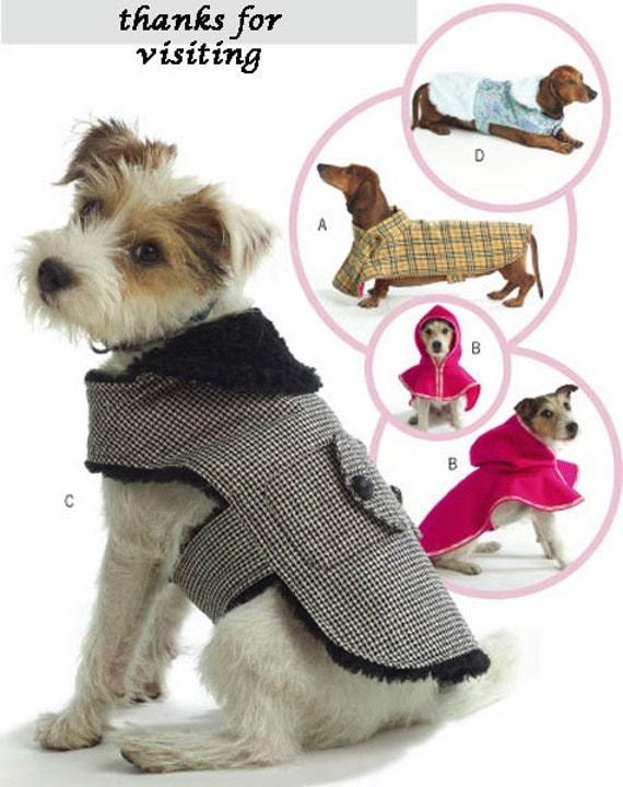 Dog Sweater Sewing Pattern Dog Coat Pet Sewing Pattern