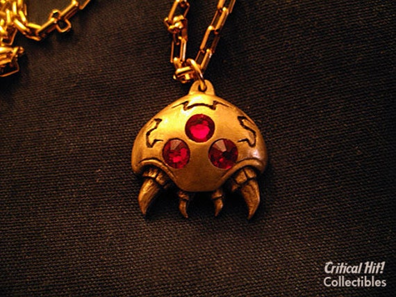 Parasite Pendant - video game jewelry geekery nerdy necklace