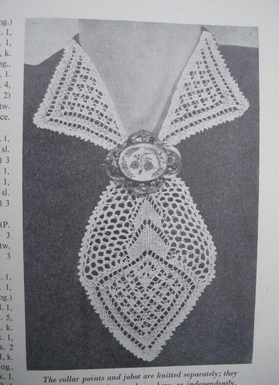 Modern Knitting Pattern Books : Vintage Knitting Patterns Book Crochet 1940s - Modern Knitting Illustrated - ...