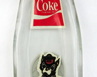 NORTH CAROLINA STATE Vintage Bottle Slumped Spoon Rest