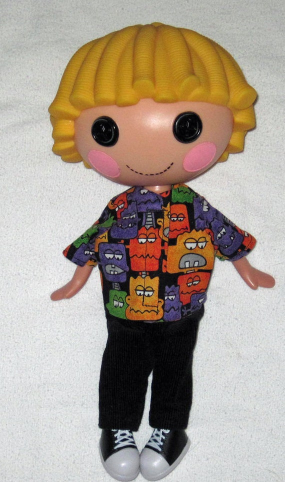 Lalaloopsy doll clothes for 12 doll Oh NO Scary Monster