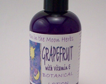 Lotion - Grapefruit Vitamin E - Essential Oil Scented Head to Toe Moisturizer
