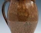 Large Pitcher in Dark Burnt Yellow (Number 2)