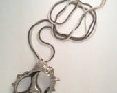 Black and White Kalypso Necklace
