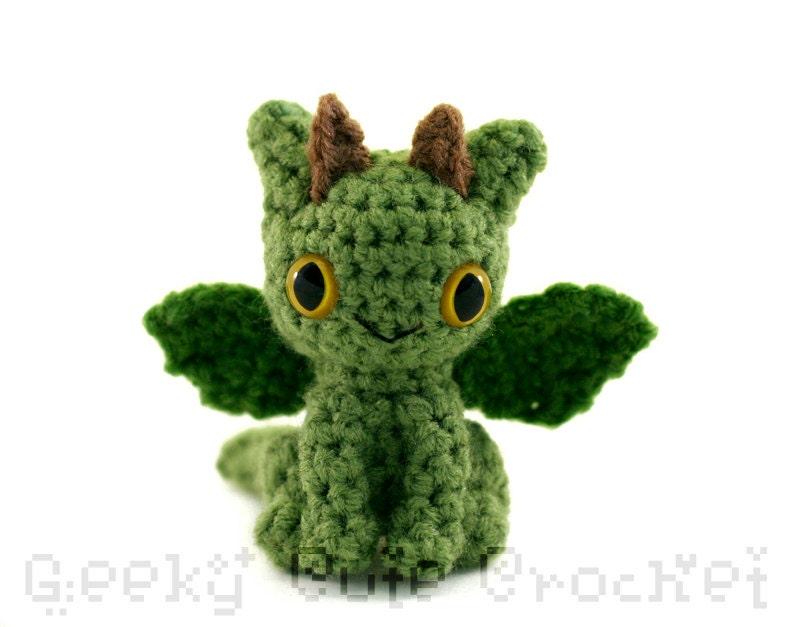 Dragon Amigurumi Crocheted Plush