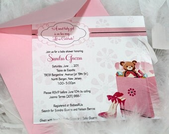 Chic Baby Shower Invitation