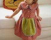 INSTANT DOWNLOAD Playdate Dress, PDF Sewing Pattern, sizes 6m, 12-18m, 2t, 3t, 4t, 5
