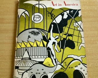 Lichtenstein Art in America - Vol. 52, No. Two, April 1964