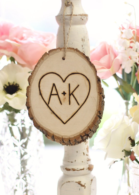Items similar to personalized ornament rustic tree slice for Custom engraved christmas ornaments