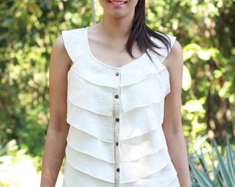 SALE 25 USD--BN075--Lovely Lovely (cotton vest)